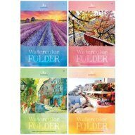 Бумага для акварели А4 BG Watercolor Nature папка 20л 200г/м